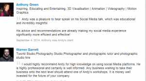 Get recommendations: LinkedIn tips